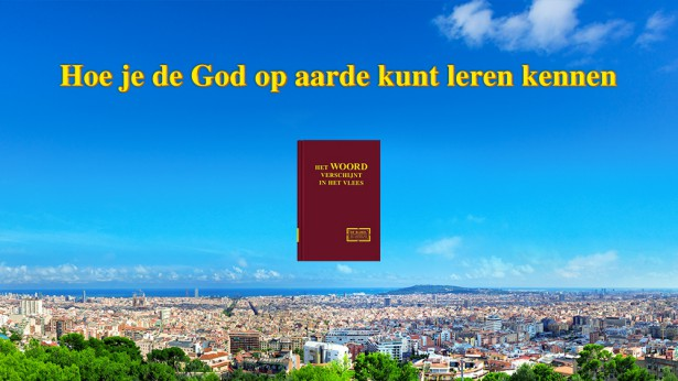 Hoe je de God op aarde kunt leren kennen